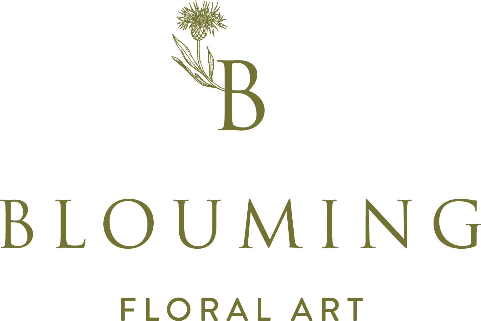 Shop Blouming floral art
